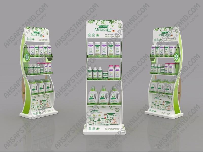 Organik Kimyasal Ürün Standı
