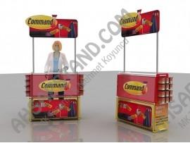 Command Brand (3M), Dekorarasyon Çözümleri Ürün Standı