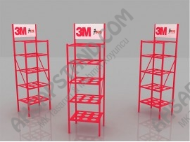 3M, PPS Boya Hazırlama Sistemi Ürün Standı
