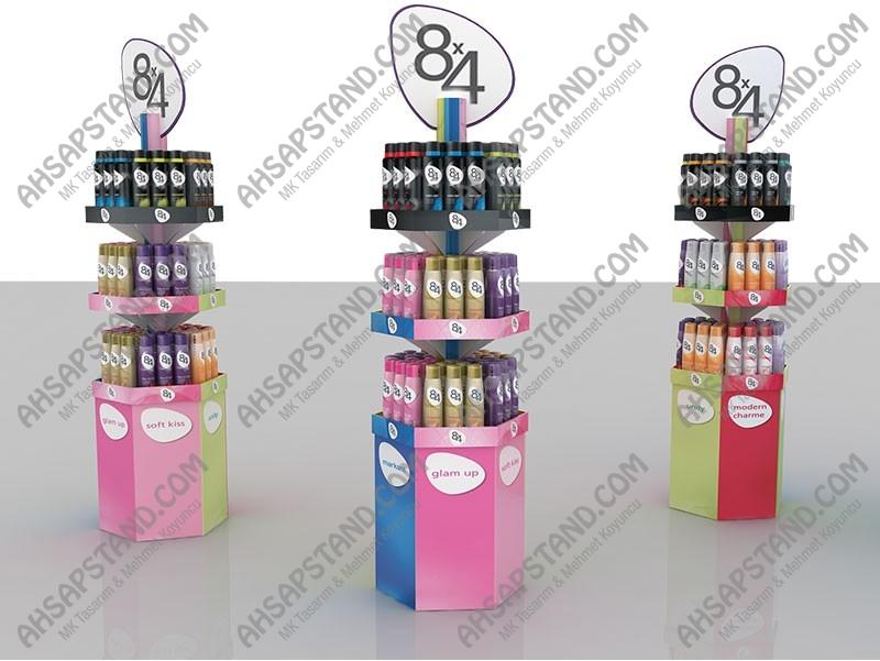8x4 Deodorant Standı