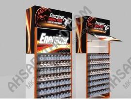 Energizer Askılı ve Çekmeceli Pil Standı
