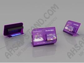 Breathe Right  Ürünleri (Para Kontrol Cihazlı )Tezgah Üstü Standı