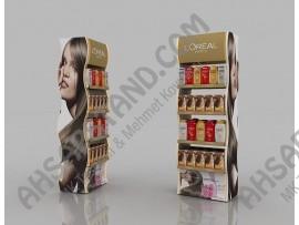 L'Oreal Paris Saç Boya ve Saç Bakım Ürünleri Standı