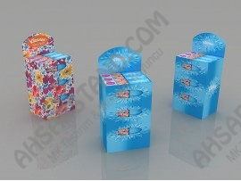 Kleenex Mendil Tezgah Üstü Standı