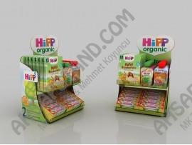 Hipp Organik Bebek Mamaları Tezgah Üstü Stand