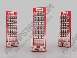 Elbi Elektrik & Aydınlatma Ürünleri Askılı Stand