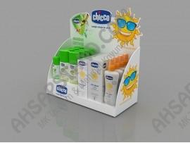 Chicco Bebek Güneş ve Sinek Koruyucu Ürünleri Tezgah Üstü Standı