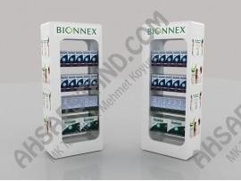 Bionnex Saç Bakım Ürünleri Raflı Stand