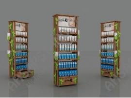 BioNike Ürünleri  Ahşap Stand
