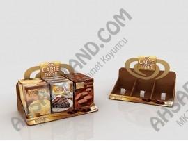 Carte D'or Tatlı Ürünleri Tezgah Üstü Standı