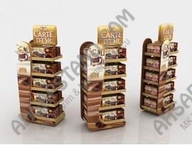 Carte D'or Tatlı Ürünleri Boy Standı