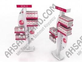 Bioblas 4 Raflı Saç Bakım Ürünleri Standı