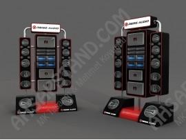 Reiss Audio Özel Tasarım Stand